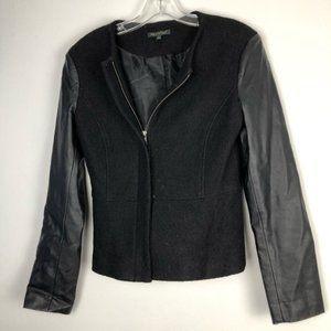 FOR CYNTHIA Black Bomber Motorcycle Jacket